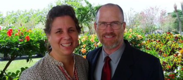 Steven and Ruth Schafer an India Missionaries