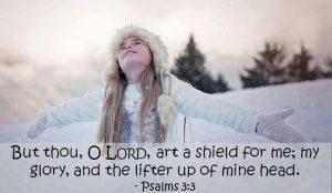 Dexter Gospel Church Verse of the Day Psalma 3-3 image